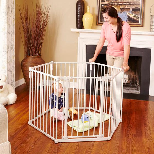Amazon Com North States Superyard 3 In 1 Metal Gate