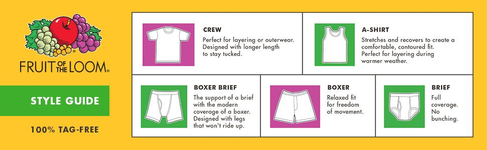 Amazon.com: Fruit of the Loom Boys' Boxer Brief (Pack of 7): Clothing
