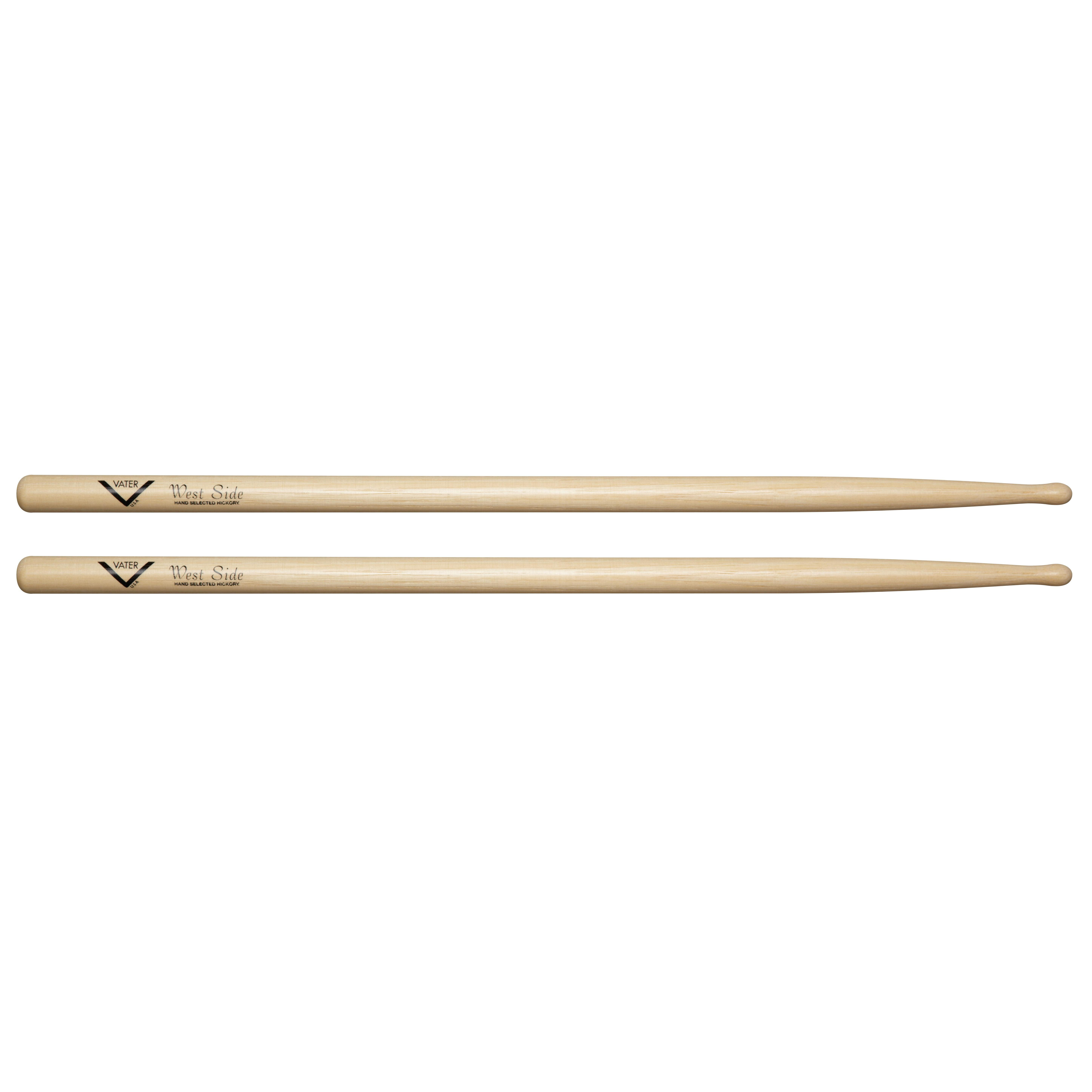 amazon com vater vhws west side hickory drum sticks oval tip