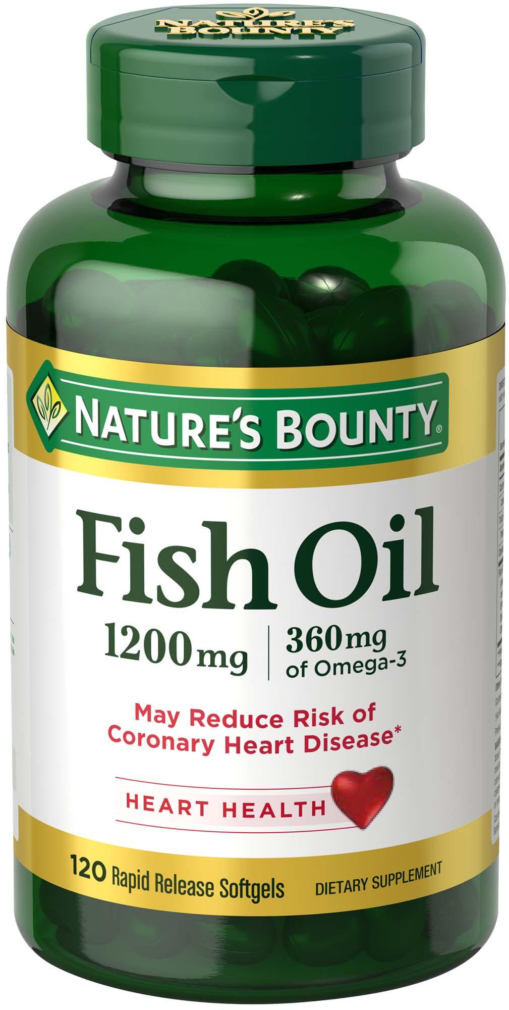 Natures fish oil