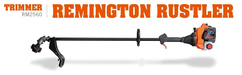 amazon com remington rm2560 rustler 25cc 2 cycle 17 inch straight