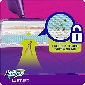 Amazon Com Swiffer Wetjet Extra Power With Mr Clean