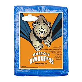 all purpose, grizzly tarp, tarp, cover, shelter