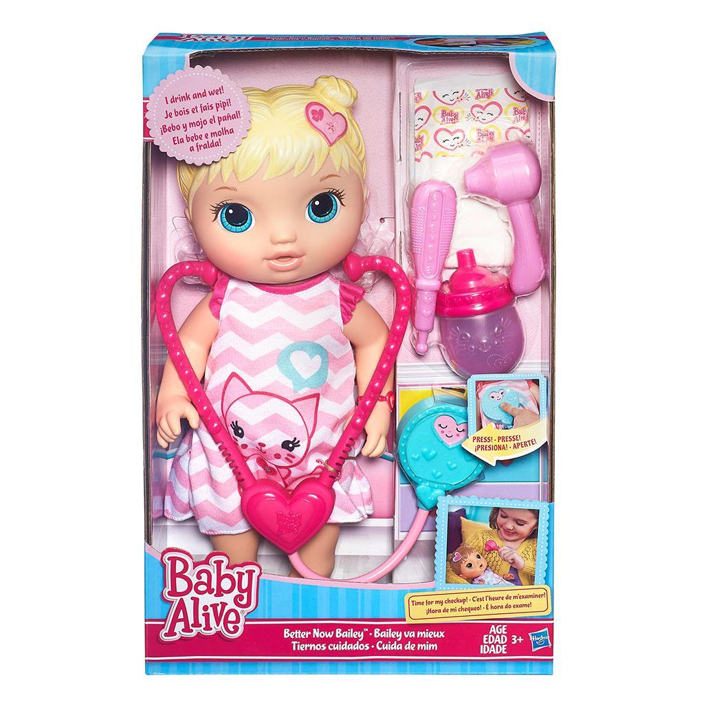 Amazon Com Baby Alive Better Now Bailey Blonde Hasbro