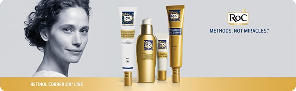 RoC RETINOL CORREXION - Deep Wrinkle Night Cream för anti-ageing - Banner
