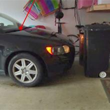 garage parking aid, garage parking guide, parking sensor, B0008D6NK0, B000F6F99G, B007YX9P6Q