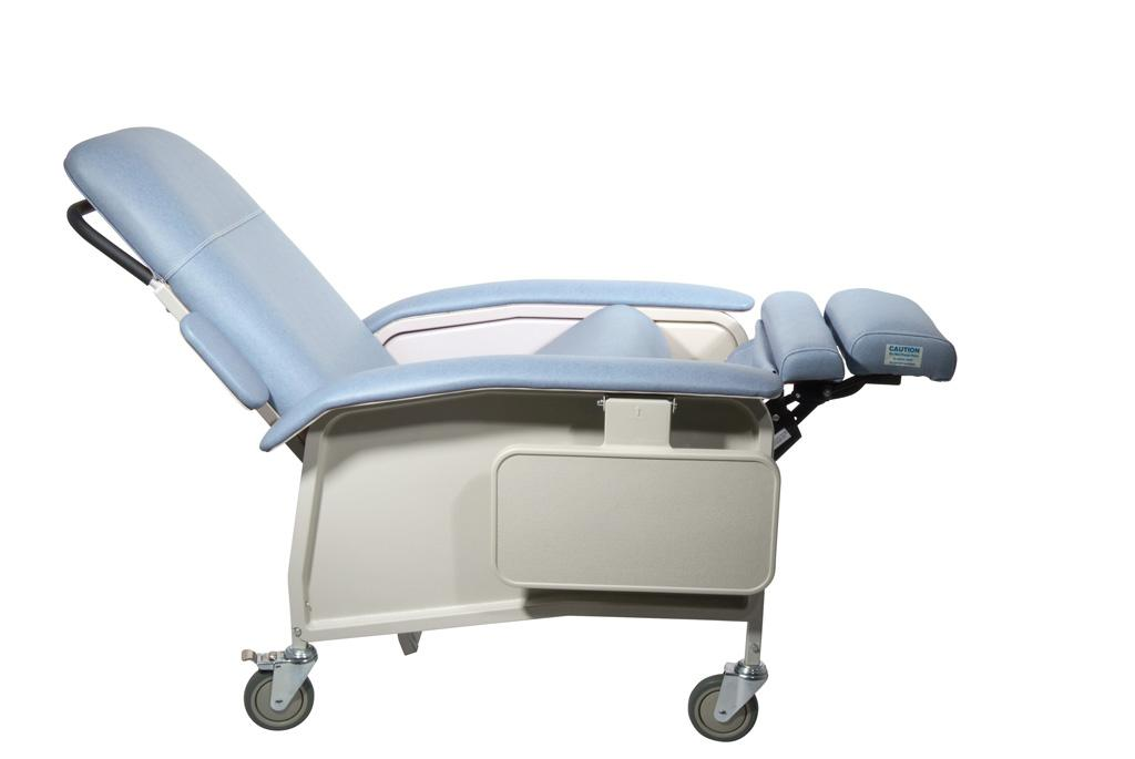 View larger  sc 1 st  Amazon.com & Amazon.com: Drive Medical Clinical Care Geri Chair Recliner Blue ... islam-shia.org