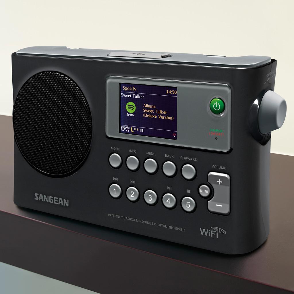 Amazon Com Sangean Wfr 28 Internet Radio Fm Rbds Usb Network Music Player Digital