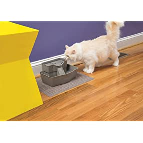 cat petsafe pet safe drinkwell drink well cats fountain bowl water filtered clean