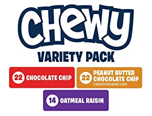 Amazon.com: Quaker Chewy Granola Bars Variety Pack, 58 ... Quaker Chewy Logo