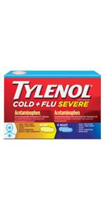 Tylenol Cold + Flu Severe Day/Night Pack