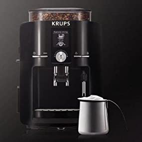 Krups Coffee Maker Grinder Problems : Amazon.com: KRUPS EA8250 Espresseria Super Automatic Espresso Machine Coffee Maker with Built-in ...