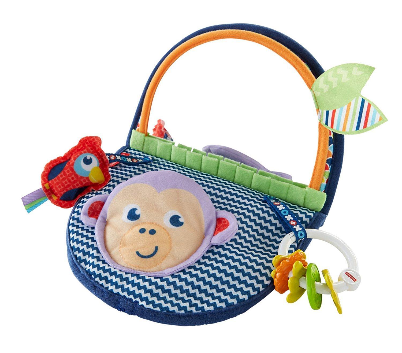 Amazon Com Fisher Price Monkey Mirror Toys Amp Games