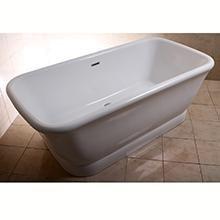 Double ended Bathtub tub Acrylic Freestanding
