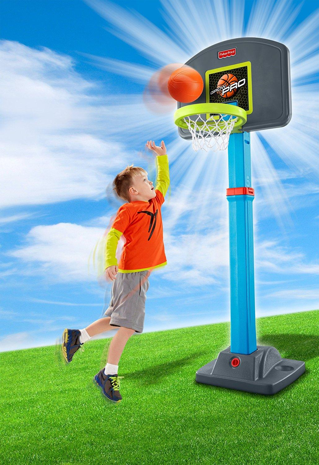 fisher price i can play basketball vs grow to pro