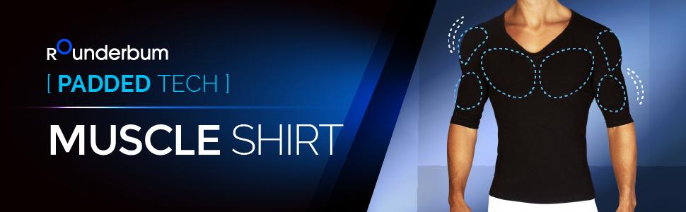 a4492e94 Rounderbum Men's Muscle Shirt, Black, X-Large at Amazon Men's ...