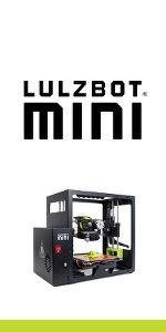 lulzbot mini, lulzbot, 3D printer