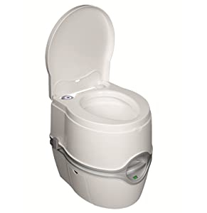 Amazon.com: Thetford 92360 Porta Potti 550E Curve Portable Toilet