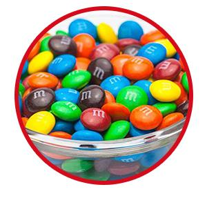 Make your candy buffet and candy dishes more colorful with delicious Milk Chocolate M&M'S Candy.