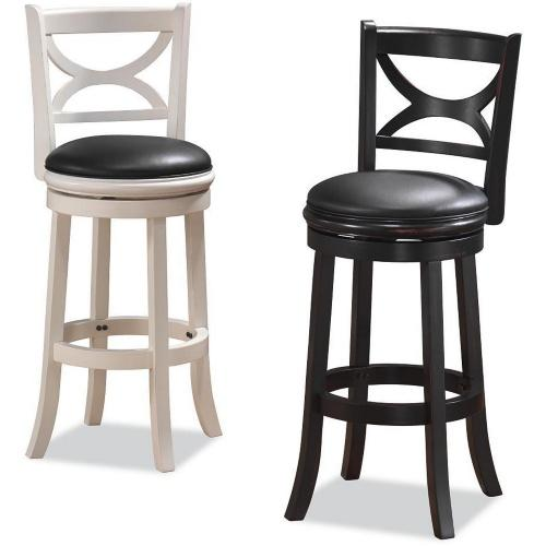 Boraam 45729 florence bar height swivel stool - Amazon bedroom chairs and stools ...