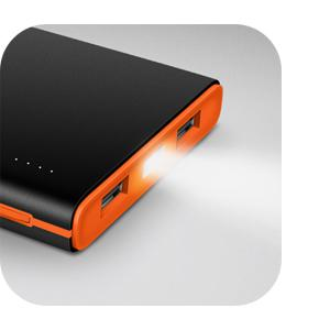 1000mAh Power Bank Brilliant External Battery pack