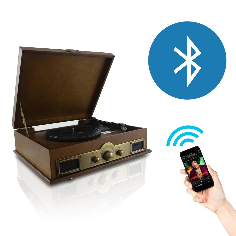 how to give a vintage radio bluetooth