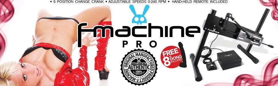 Sex Machine, F-Machine 110V, F-Machine Pro, F-Machine Gigolo, F-Machine Pro II