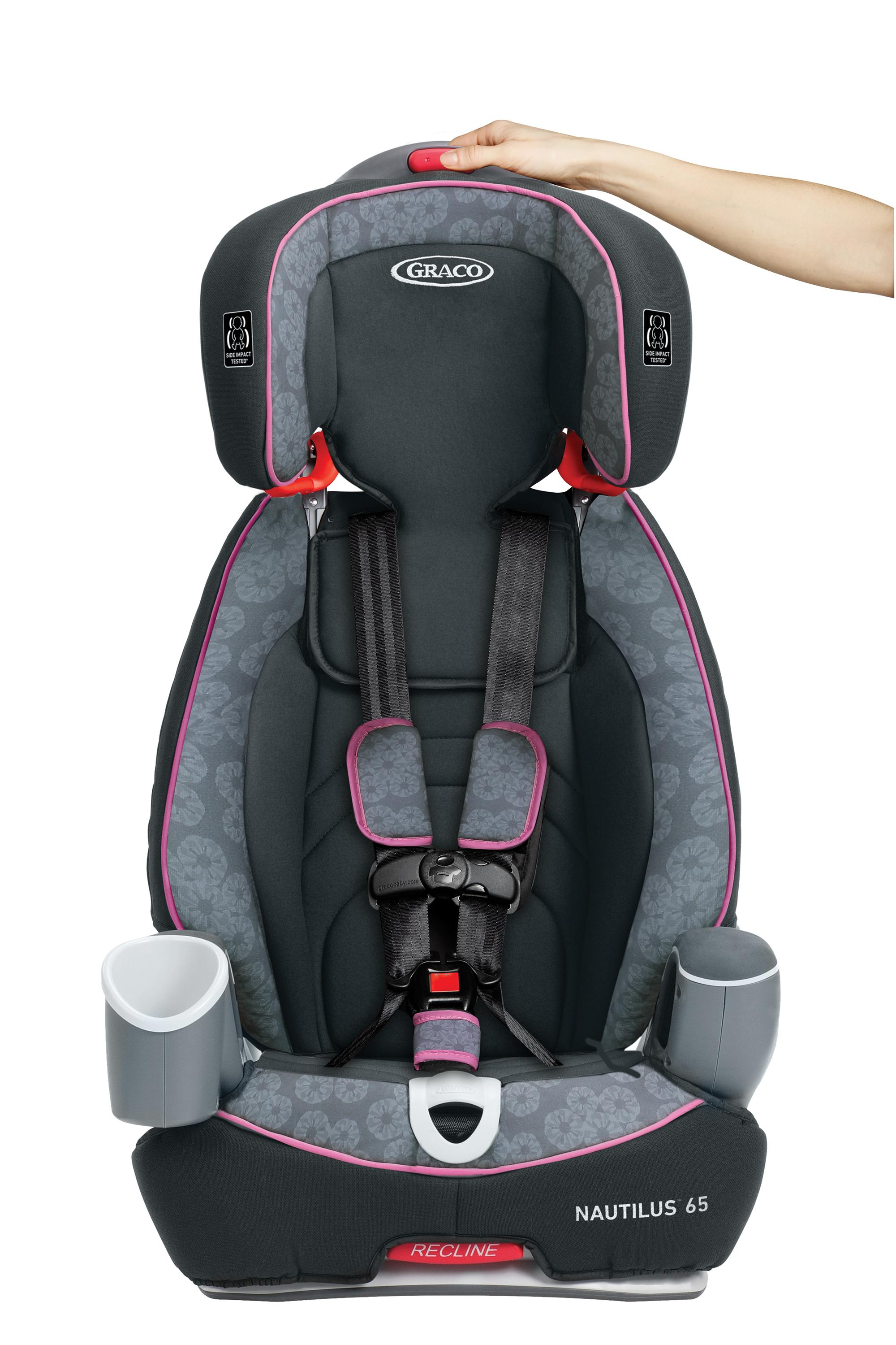 graco nautilus 65 3 in 1 harness booster car seat fern baby. Black Bedroom Furniture Sets. Home Design Ideas