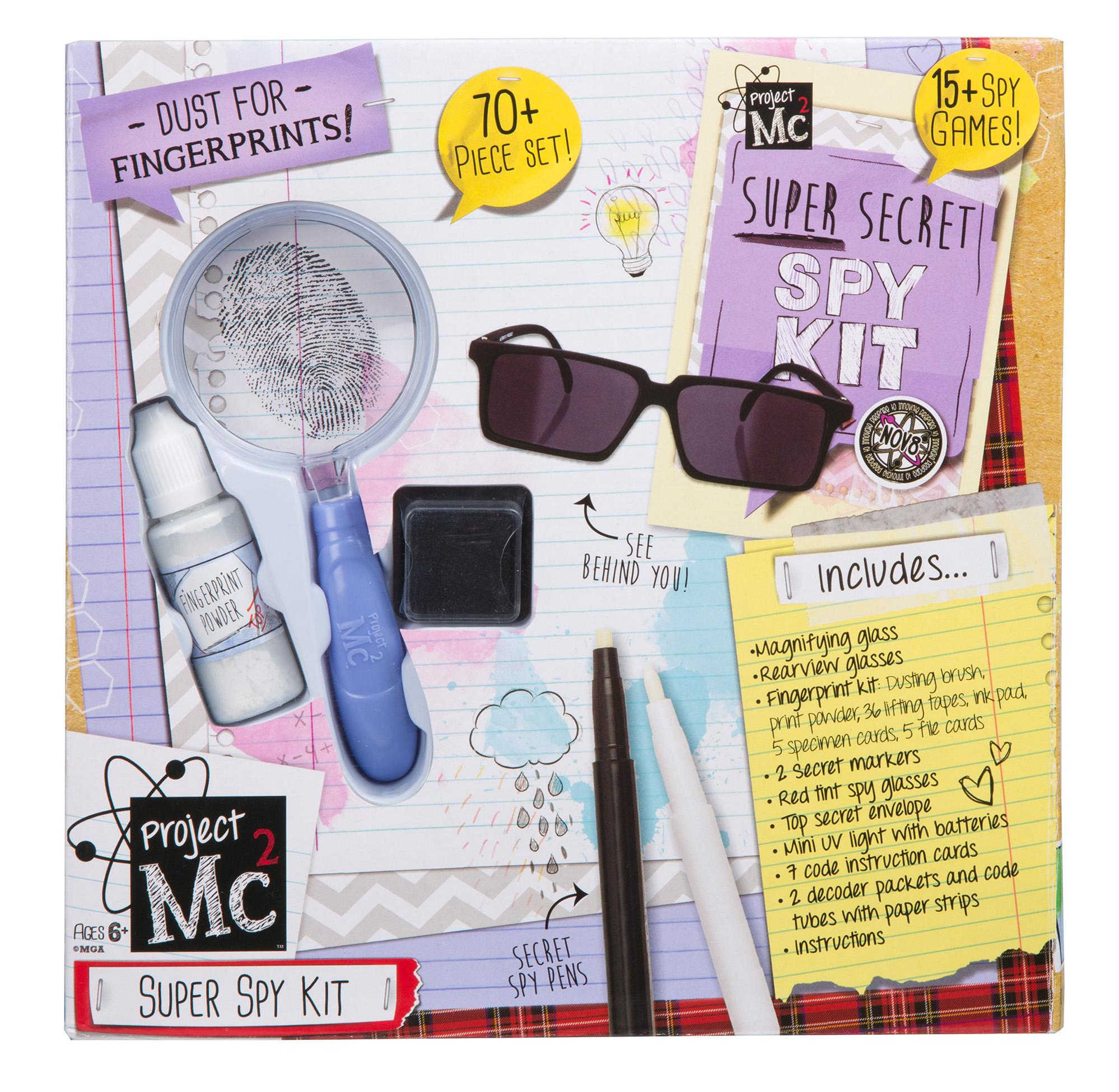 Project Mc2 Super Spy Kit Toys Games Junior Electronics Projects Walmart Circuit Kits From The Manufacturer