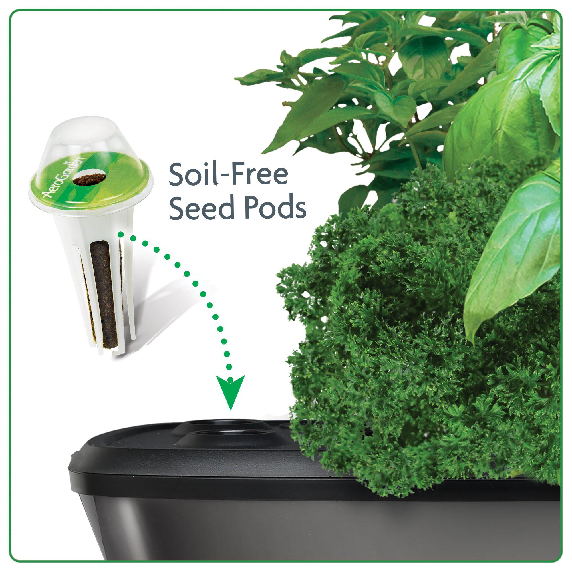 Amazon Com Aerogarden Bounty Elite With Gourmet Herb