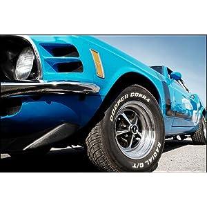 Bf Goodrich All Terrain >> Amazon.com: Cooper Cobra GT All-Season Tire - 235/60R15 ...