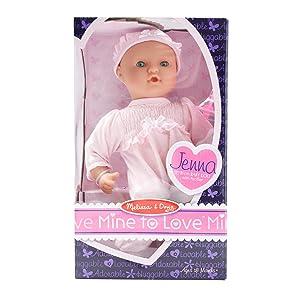 Amazon Com Melissa Amp Doug Mine To Love Jenna 12 Inch Soft