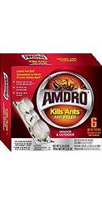 Amdro Liquid Ant Killer, Amdro 6 pack Liquid Killed, Liquid Ant Bait, Amdro