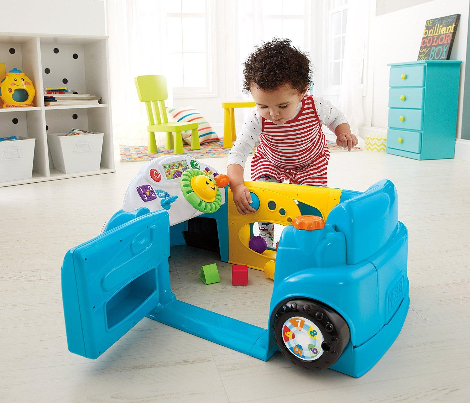 Laugh & Learn Smart Stages Blue Crawl Around Car – $39.88