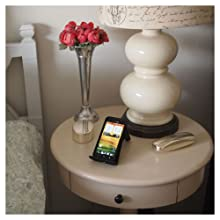 VU Charger on nightstand