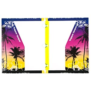 Mead trapper keeper snapper trapper 2 pocket folders fun in the sun assorted for Trapper keeper 2 sewn binder with exterior storage