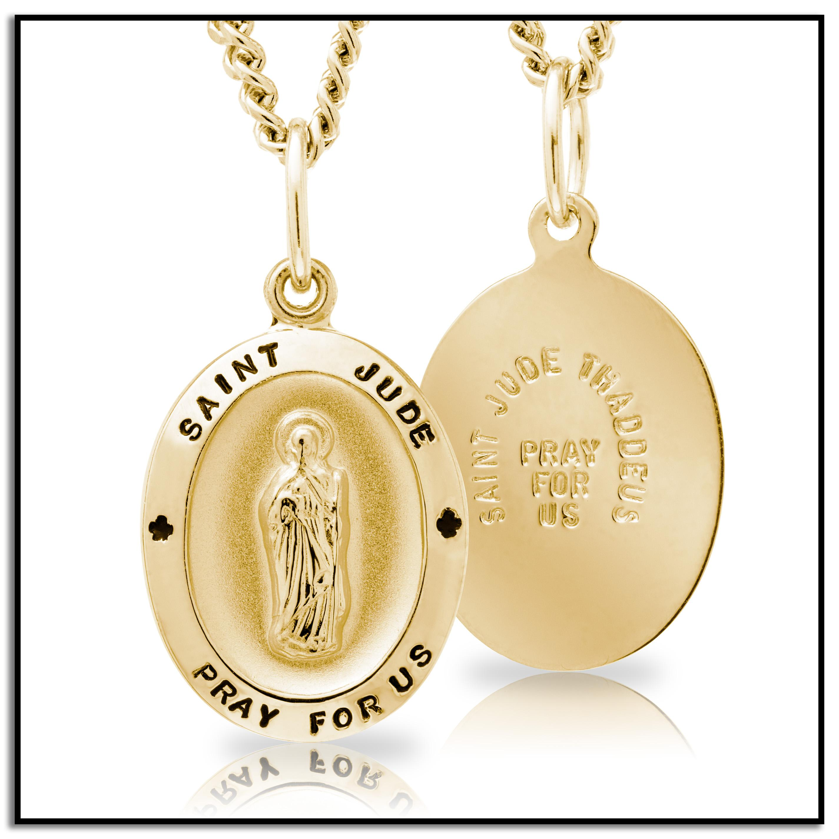 pendant stl benedictus model cgtrader saint printable print gold pendants models jewelry