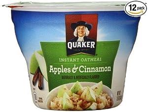 Quaker Instant Oatmeal cup