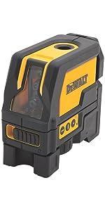 DW0822 Cross Line/Plumb Spot Laser