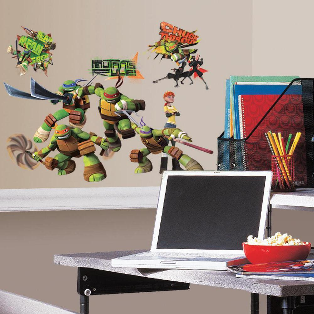 From The Manufacturer. Teenage Mutant Ninja Turtles Wall Decals ... Part 92