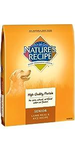 senior dry dog food