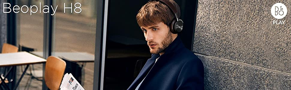 Beoplay H8, B&O PLAY H8, Wireless Headphones, Active Noise Cancellation, Noise Cancelling Headphones