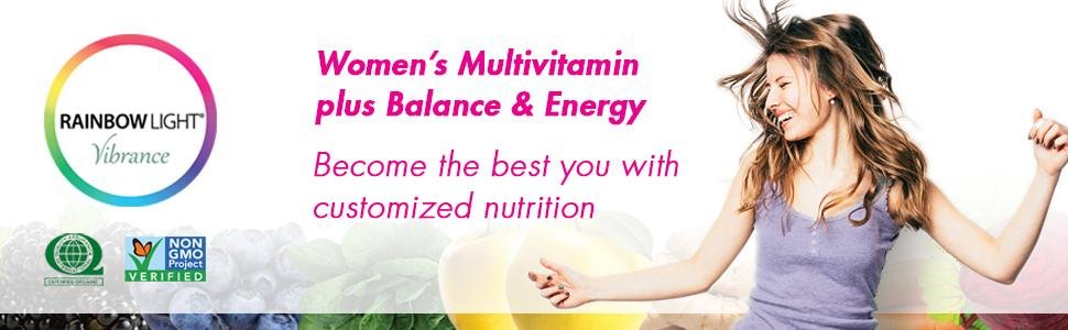 Amazon Com Rainbow Light Vibrance Women S Multivitamin