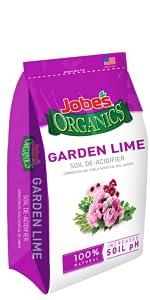 OMRI conditioner de-acidifier pH balancer soil amendment hydrangeas pink alkalinity acid
