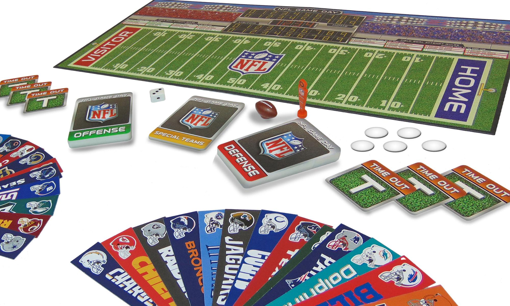 Amazon NFL Game Day Board Game Toys & Games