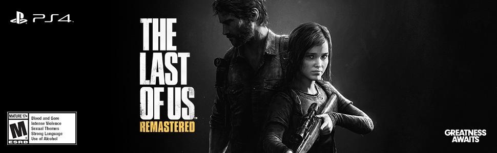 Amazoncom The Last of Us Remastered PlayStation 4 Sony