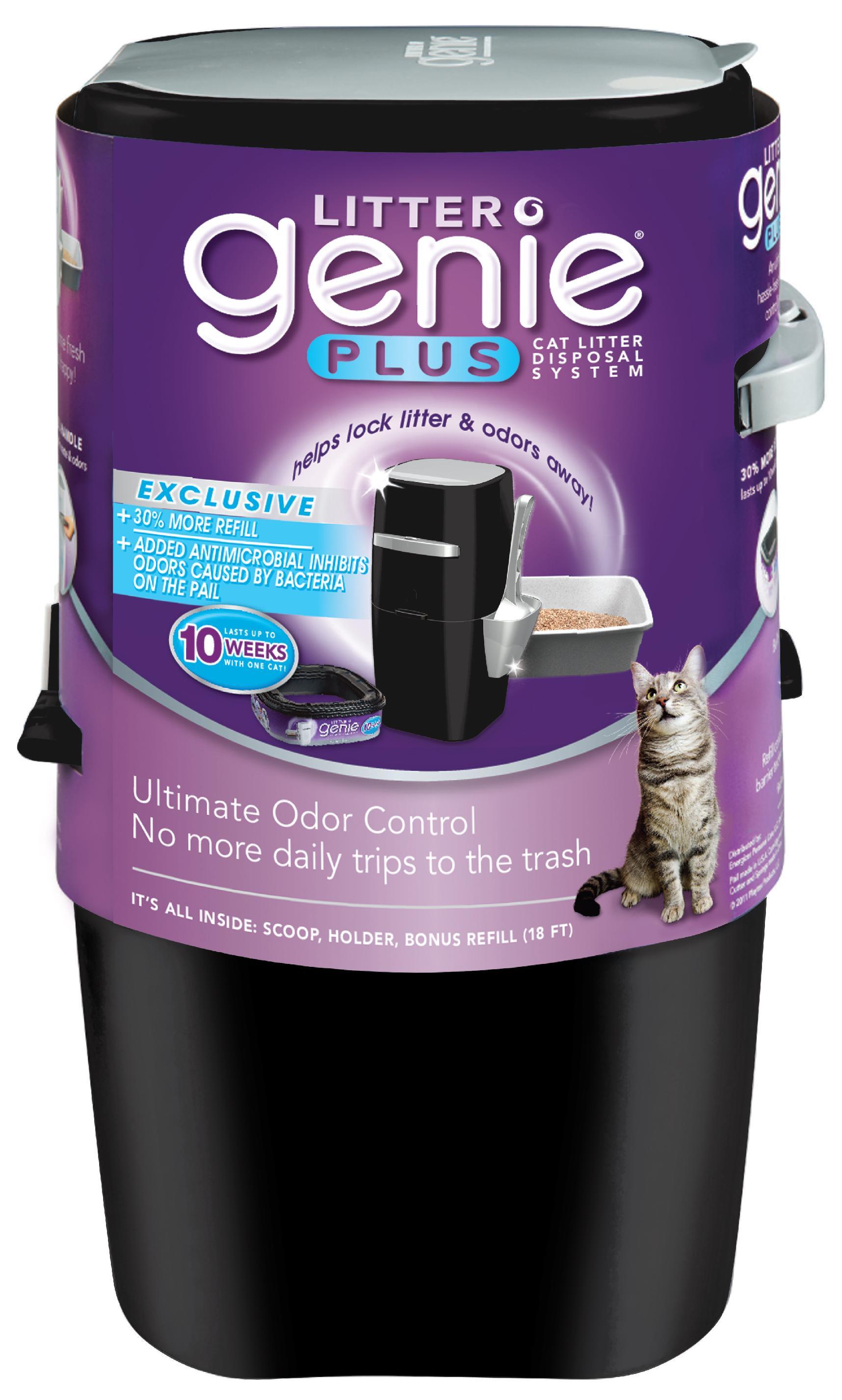Amazon Com Litter Genie Plus Ultimate Cat Litter Odor