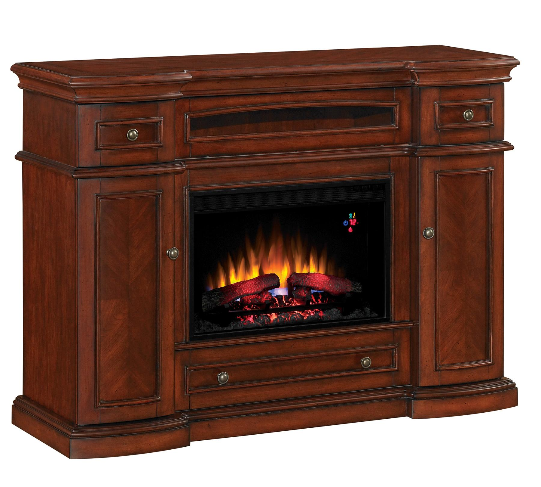Montgomery 26in electric fireplace and tv stand cherry 26mm2490 c233 - From The Manufacturer Product 26mm2490 C233