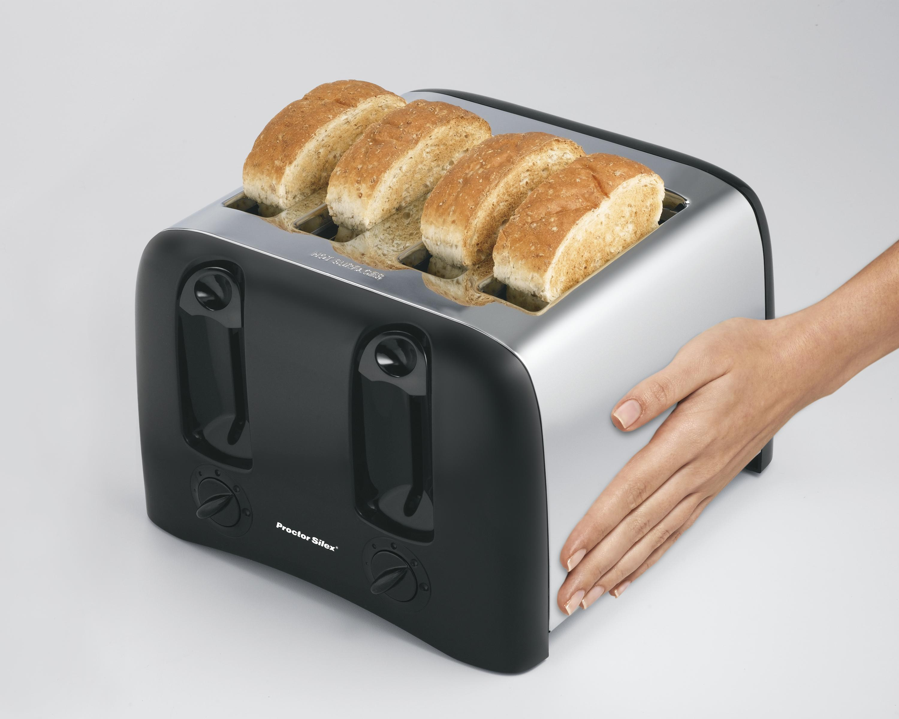 cool proctor large bread kitchen two amazon compact silex slice best dining stainless com cuisinart dp four steel oster toasters toaster digital bagel touch