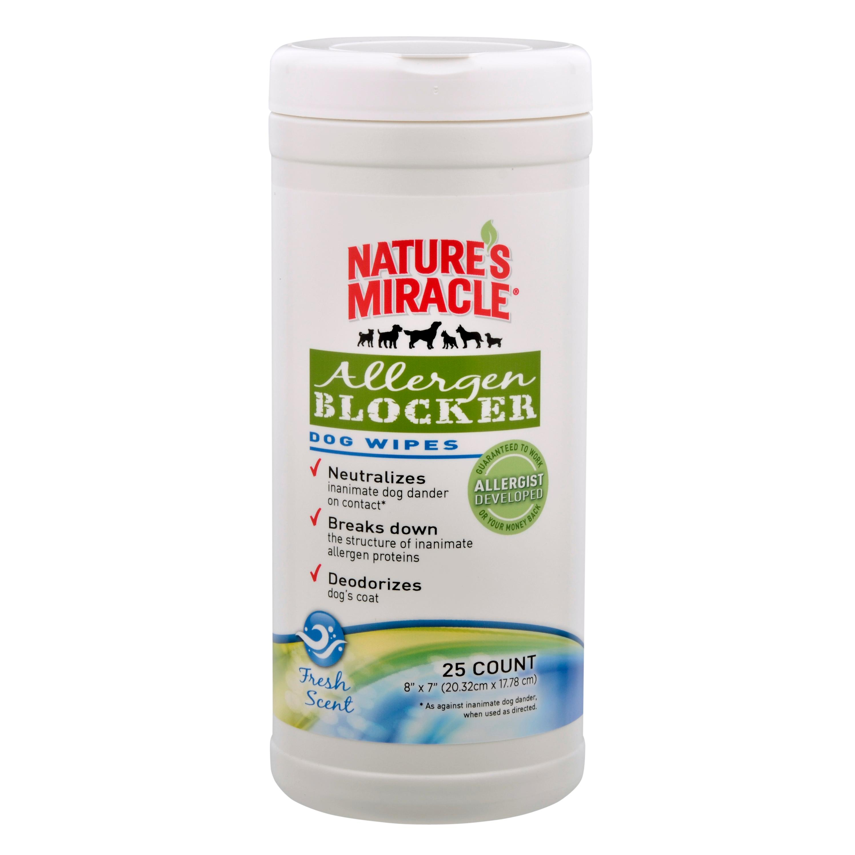 Nature S Miracle Allergen Blocker Wipes Reviews